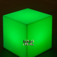 Carry Multicolor LED Lighting Cube on Battery
