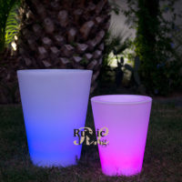 Cosmy Multicolor Lighting Flower Pot with Cable1