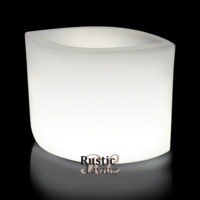 Ovy W60 White E27 Lighting Jardiniere With Cable1