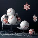 Kerst met wit, rood goud