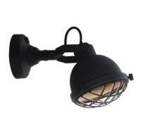 wandlamp Cas Black