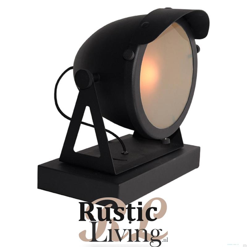 Tafellamp Cap Black