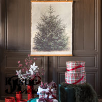 Canvas kerstboom