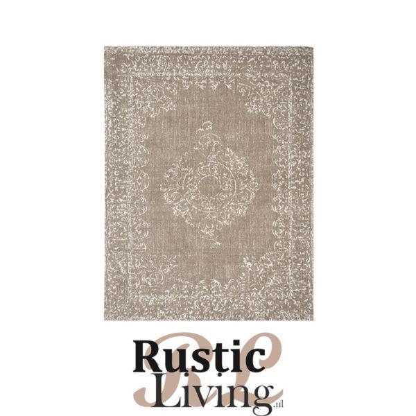 Vloerkleed vintage army katoen polyester 140x160