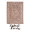 Vloerkleed vintage lava katoen polyester 160x230