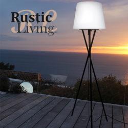 Try vloerlamp rgb led oplaadbaar voor binnen en buiten