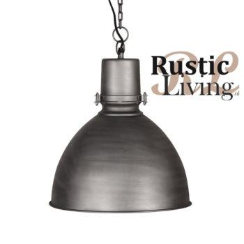 Hanglamp strike label51 industrieel grijs