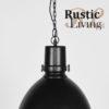Hanglamp strike label51 zwart